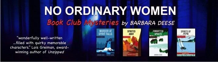 No Ordinary Women Mysteries header image